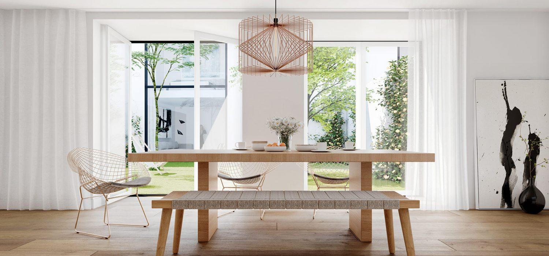 Cozinha e jardim / Kitchen and garden